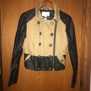 BarIII two-tone jacket